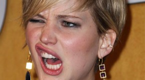 What the F? Jennifer Lawrence Pukes in Front of Miley Cyrus