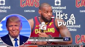 LeBron James Is Both Hilarious & Eloquent While Defending His Decision To Call Donald Trump A 'Bum'!