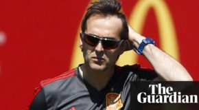 Julen Lopetegui sacked by Spain as Fernando Hierro takes over