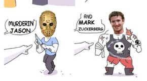 Image tagged in memes,mark zuckerberg,crimes johnson,funny