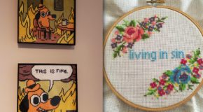 19 Funny Hand-Stitched Projects That Will Make You LOL