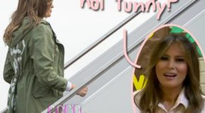 Melania Trump Wore WHAT On Her Way To Visit A Child Detention Center?!