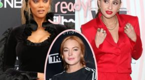 Tyra Banks Officially Announces Lindsay Lohan's Replacement In Life Size 2  And It's A Friendly Face!