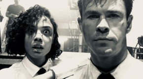 First Look: New 'Men In Black' Chris Hemsworth & Tessa Thompson Suited Up! – Perez Hilton