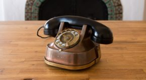 These antique phones are precious, private Alexa vessels