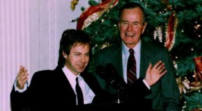 George H.W. Bush and his 'SNL' impersonator Dana Carvey: 3 funny sketches to watch